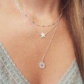 Caribe (verde) - Star & Good Luck  www.bylula.es  #goodluck #star #color #colorful #silver #littlethings #lula_bylula