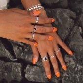 Best in BLACK🖤  -15% CODE: BYESUMMER  www.bylula.es  #black #blackandsilver #sunday #discount #rings #silver #lula_bylula